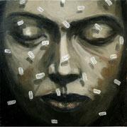 Palabras - 2017 Óleo s/ tela 30 x 30 cm