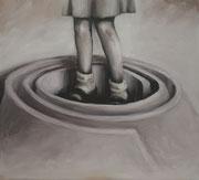 Laberinto - Maze -2017 - Óleo s tela -  55 x 50 cm
