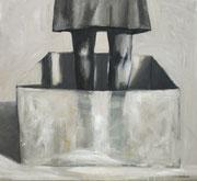 Encierro - Closure  -2017- Óleo s tela-  55 x 50 cm