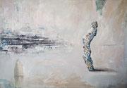 The Rimpoche - Óleo sobre tela Oil on canvas  50 x 35 cm 2021