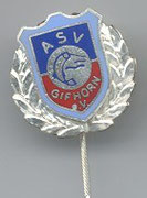 Silberne Vereinsnadel:  für 20 Jahre Mitgliedschaft