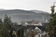 Aussicht über Fischbach bei Dahn