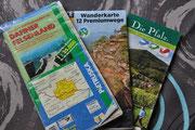 Kartenmaterial der Ferienwohnung Blick in den Wasgau