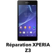 reparation sony xperia Z lyon