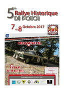 Affiche du Rallye du Poitou Historique 2017