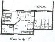 Wohnung 3 - 50m²