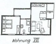 Wohnung 8 - 50m²