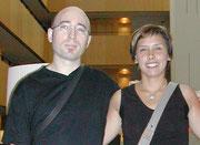 Víctor Estrada y Pamelia Kurstin