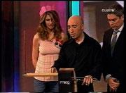 En el programa Chanel 4 con Ana García Siñeriz y Boris Izaguirre