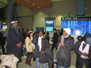 12月18日関西空港到着