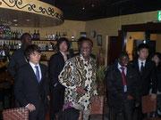 1月2日ムニャカジ大使との食事会