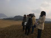 24日鳥取砂丘見学