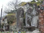 被爆した浦上天主堂の像