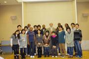 広島平和文化センター理事長スティーブン・リーパー氏と一緒に