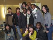 1月5日広島原爆資料館会議室にて被爆者の小倉さんと対談