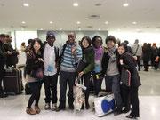 12月18日、ルワンダン成田到着!