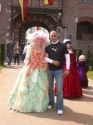 Avec Shane Rangi (Le monde de Narnia, Le seigneur des annaux)