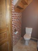 Toilettes au 1er étage