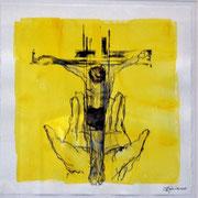 """""""Vater, in deine Hände befehle ich meinen Geist."""" (Lukas 23, Vers 46)"""