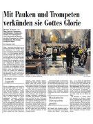 Rezision Te Deum / Donnerode - Südostschweiz vom 26.11.2013