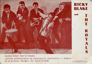 RICKY BLAKE & THE ROYALS ca. 1963 vlnr: Paul Pattinama - Huib Liauw - Johnny Fortuin - Ricky Blake - Wolfgang Goofy