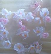 guirlandes de fleurs en papier pour la décoration mariage