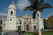 Kathedrale von Lima am Plaza Mayor von Lima.