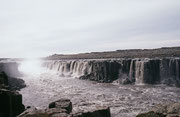 Der grösste Wasserfall im Norden Islands, der Dettifoss im Fluss Jökulsa.