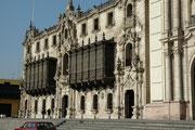 Palast des Erzbischofs an der Plaza Mayor von Lima.