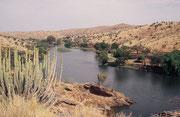 Der 39 km² grosse, seit 1962 bestehende Daan Viljoen Wildpark liegt etwa 25 km nordwestlich von Windhoek, im Khomashochland in durchschnittl. Höhe von 2000 Metern. Etwas mehr als 200 Vogelarten wurden bisher in diesem Wildpark gezählt.
