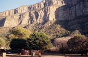 In diesem idyllisch gelegenen Haus im Aventura Resort Swadini verbrachten wir zwei Nächte zwischen unserem Aufenthalt im Krüger Park und der Fahrt in den Süden durch das Blyde River Canyon Nature Reserve.