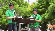 ウインドシンセのPapa&Mizuki!