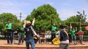 応援に来てくれたピュアハートメンバーがさらに盛り上げてくれました!