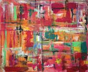"""""""Gefühlsquadrat"""", Acryl, 100x110, 2013"""