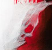 """""""Ghostly"""", Acryl auf Leinwand, 100x100,2008"""