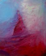 Sturm am Matterhorn, Öl auf Leinwand,80x60
