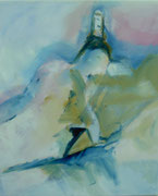 Jungfraujoch, Öl auf Leinwand,60x50