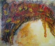 Herbst , Acryl auf Leinen, 50x60 cm