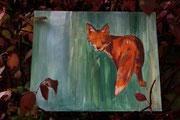 Ohne Titel, 50x60, Öl auf Spanplatte, 2009