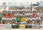 Mannschaftskarte: Jack Daniels Werbekarte; Saison: 1997/98; Ligazugehörigkeit: 2. Bundesliga