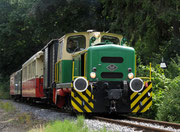 """Seit Anfang 2011 ist die O&K D1 aus der HU entlassen. Seit dem zieht sie wieder zuverlässig die Züge des """"Vulkan-Expreß""""!"""