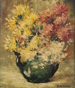 Paule Bisman, bouquet champêtre ; coll. privée