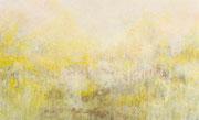 o.T. (goldenes Licht), 2019, 230x140cm, Eitempera auf Leinwand
