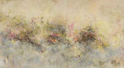 o.T. (Blühen),2016, 180x100cm, Leimfarbe auf Hanf