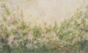 o.T. (nachmitags),2020, 240x100cm, Leimfarbe auf Leinwand
