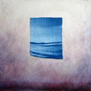 """Breaking waves"" 40X40cm"