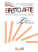 Copertina Catalogo opere ammesse al 1° Premio Effetto Arte