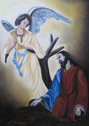 Cristo all'orto - Olio su tela - 50x70 - 2011