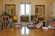 Alcune delle Opere esposte a Palazzo di Città di Taranto (16 Giugno 2013)