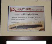 Targa Diario Critico Effetto Arte Anno II n.2